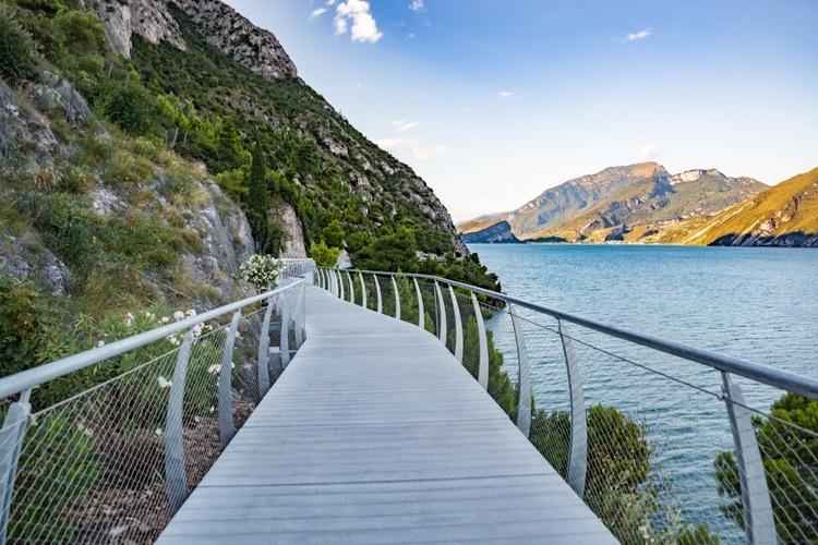 Vandring Gardasjön