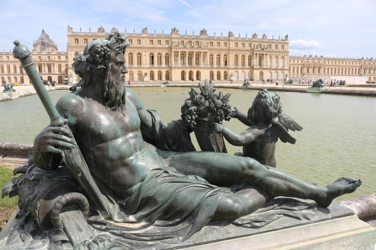 Versailles slottet