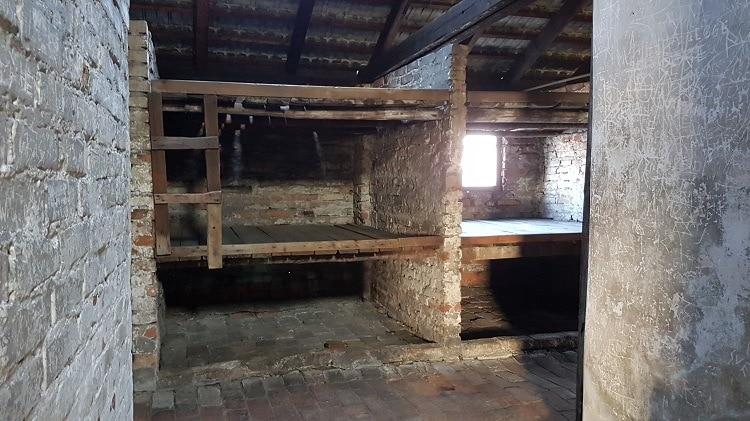auschwitz prisoner cells