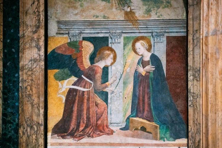 frescomalning pantheon
