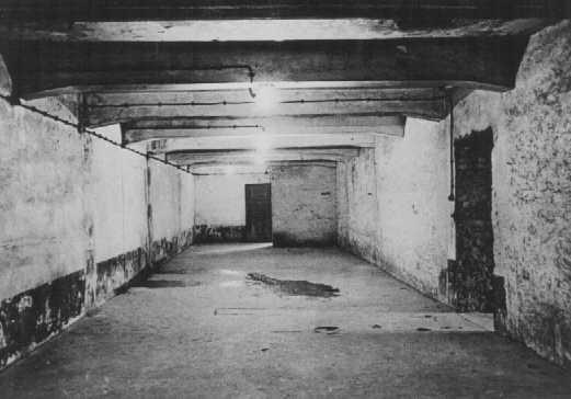 gas chamber auschwitz