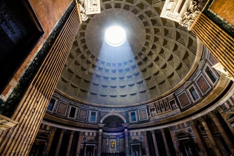 ljuset i pantheon