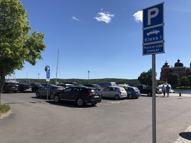 parkering gripsholms slott