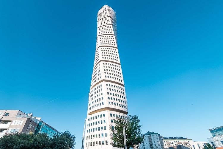 Turning Torso in Malmö – Facts and information for visitors