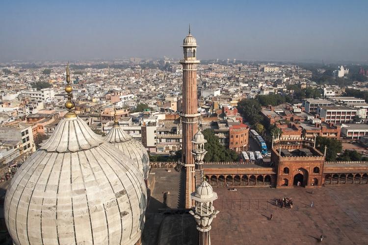 New Delhi skyline