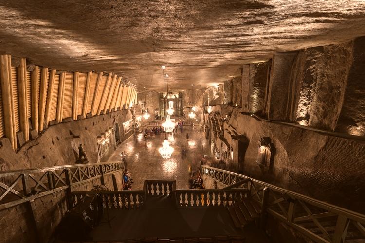 Saltgruvan i Wieliczka