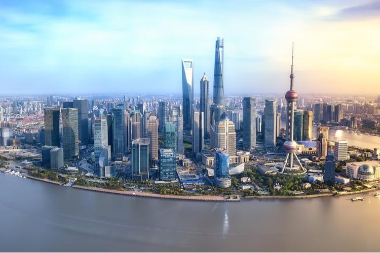 Shanghai är Kinas näst största stad