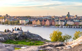 Skinnarviksberget i stockholm
