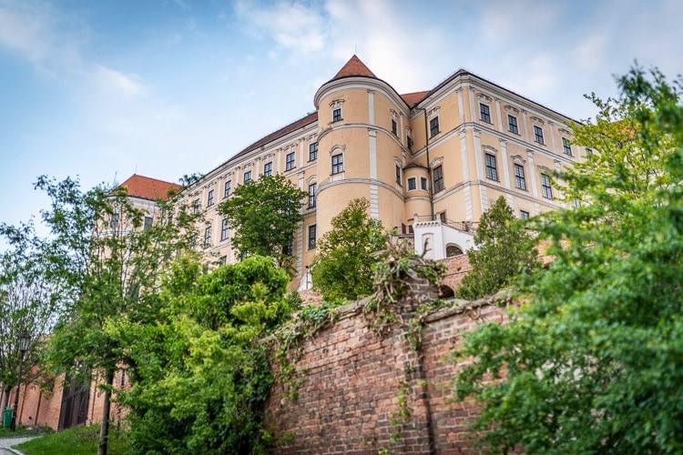 mikulov slott