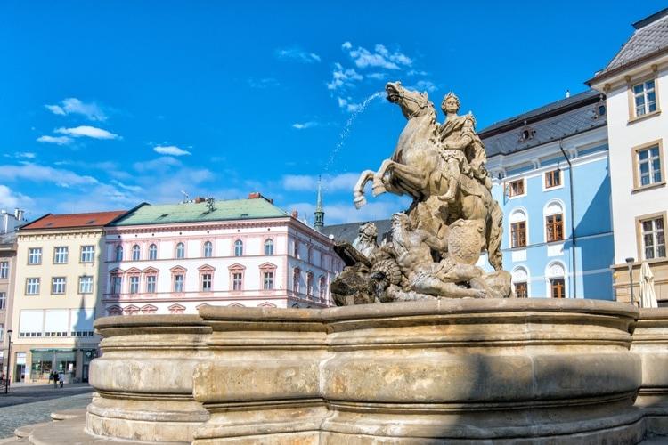 Baroque Fountain olomouc