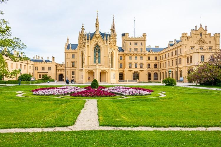 Lednice castle