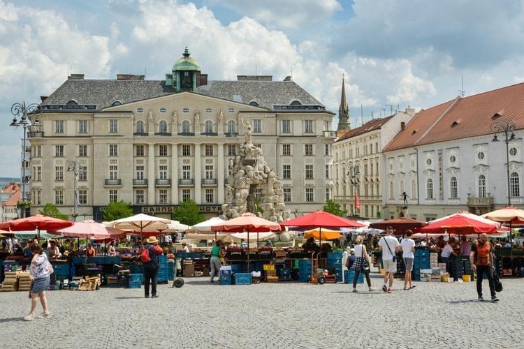 Markets in Brno