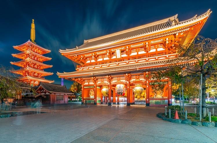 Senso-Ji Temple i Tokyo