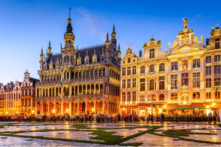Brussels - the capital of EU