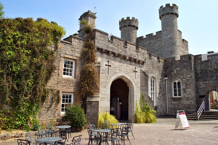Castles in Wales where you can stay overnight