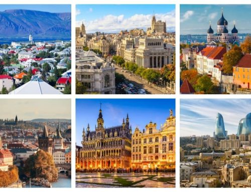 List of European Capitals from A to Z