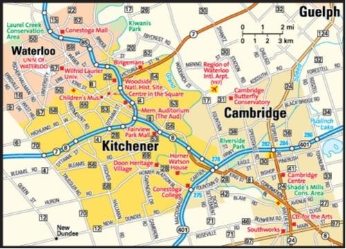Kitchener–Waterloo–Cambridge, Ontario