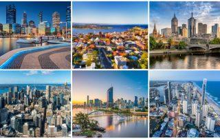 Australiens största städer