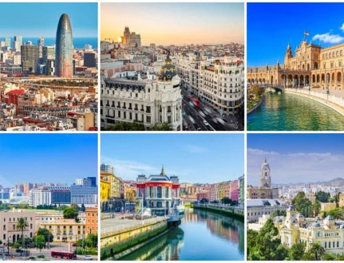 15 Largest Cities in Spain by population and area