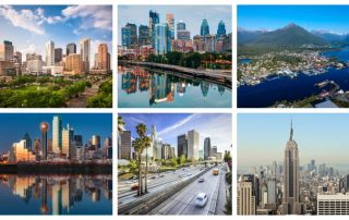 USA:s största städer