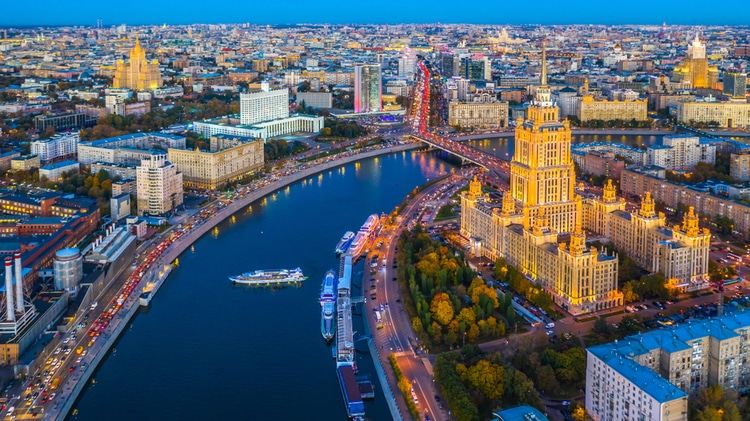 Moscow - capital of russia