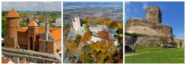 Otros castillos de Polonia