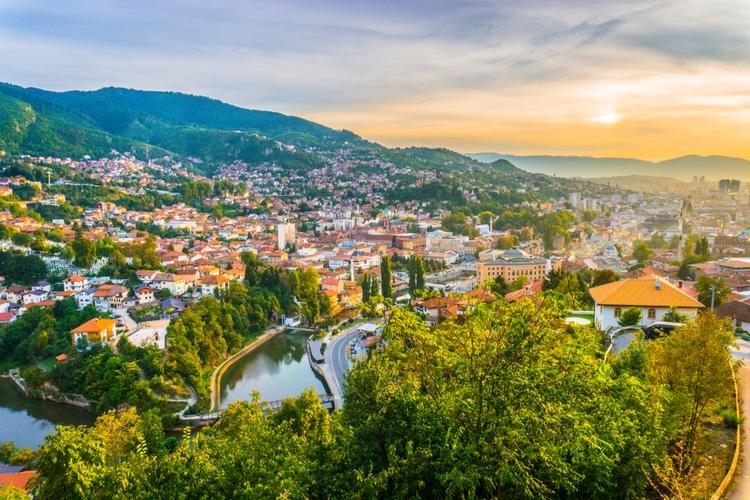 Sarajevo - Capital of Bosnia and Herzegovina