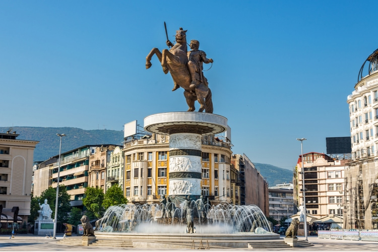 Skopje - Capital of North Macedonia