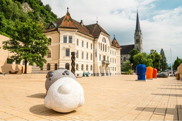 Vaduz - Capital of Liechtenstein