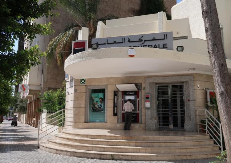 Cajeros automáticos en Marruecos