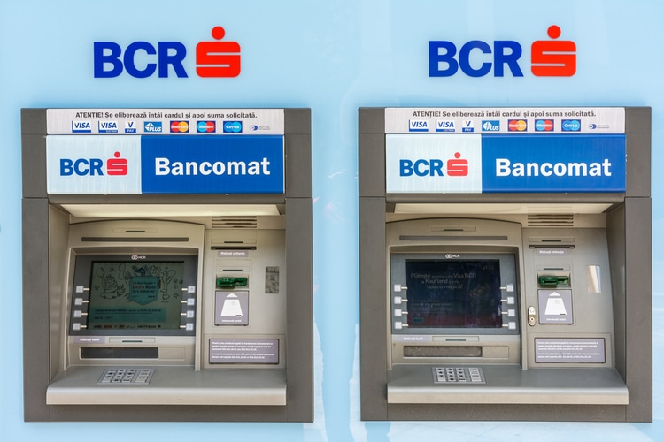 ATMs in Romania