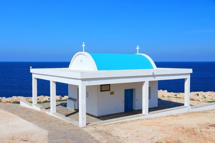 Agioi Anargyroi church at Cape Greco