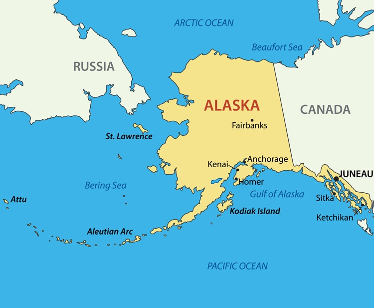 Alaska is the largest state in the US