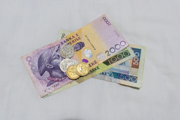 Albanian currency