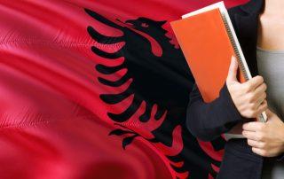 Albanian words