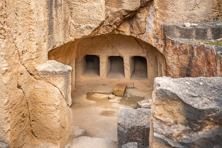 Ancient Tomb in Paphos