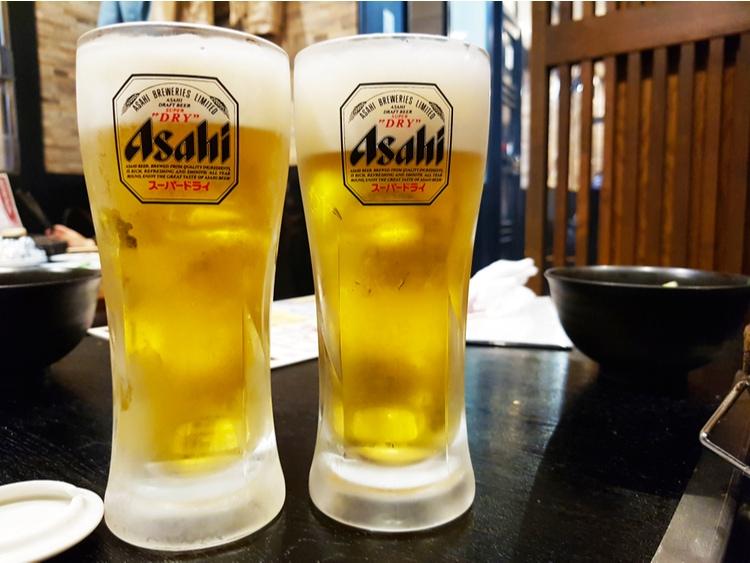 Asahi Super Dry cerveza japónesa