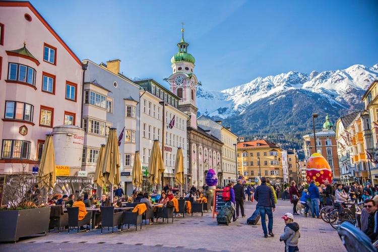 Österrike är ett av världens säkraste länder