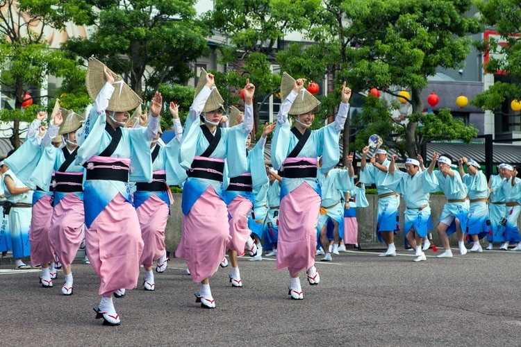 Awa Dance Festival in Japan
