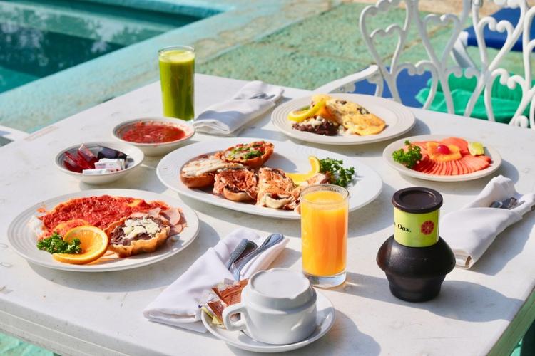 Frukost i Mexiko