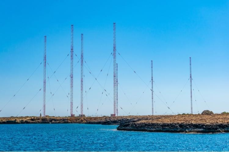 British radar station
