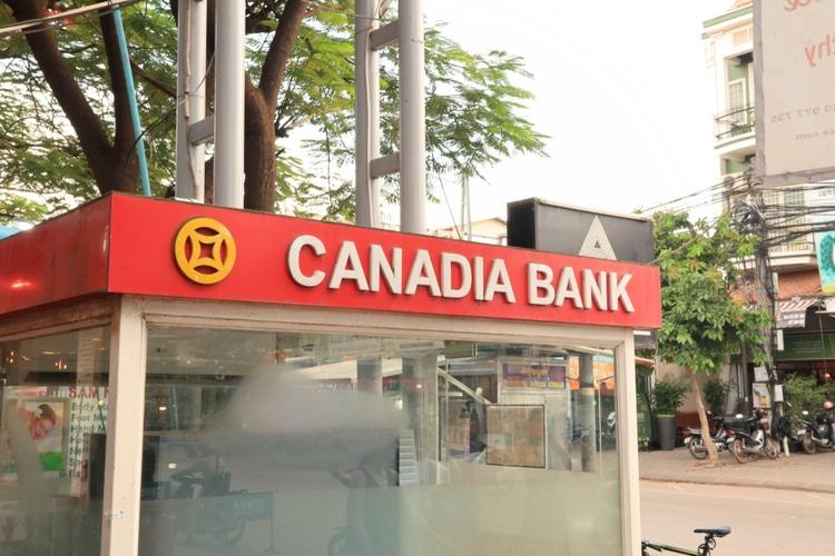 Cajeros Automaticos en Camboya