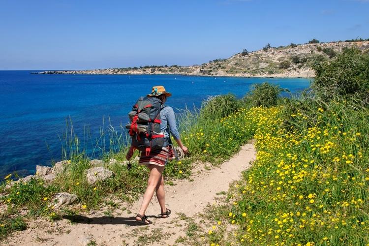 Cape Greco Hiking trail