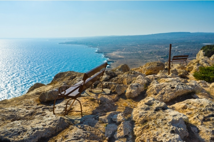 Cape greco viewpoint