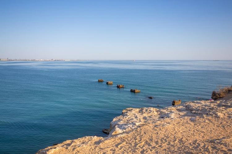 Kaspiska Havet är världens största stö