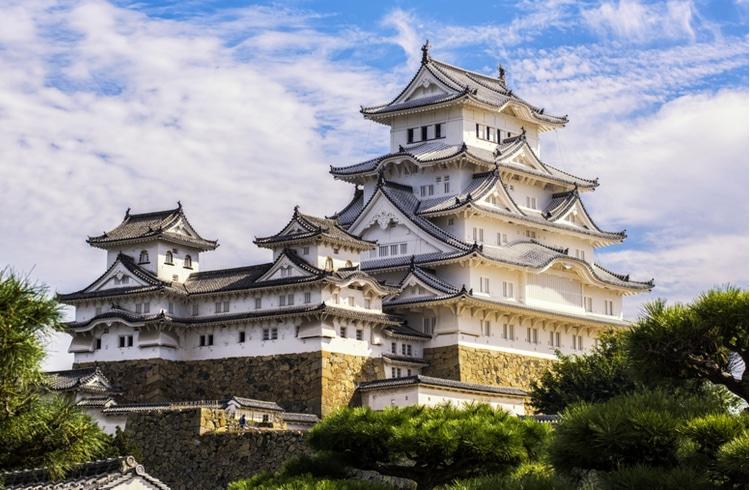 Castillos más bonitos de Japón