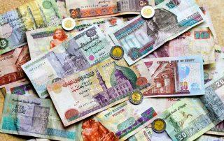 Moneda en Egipto