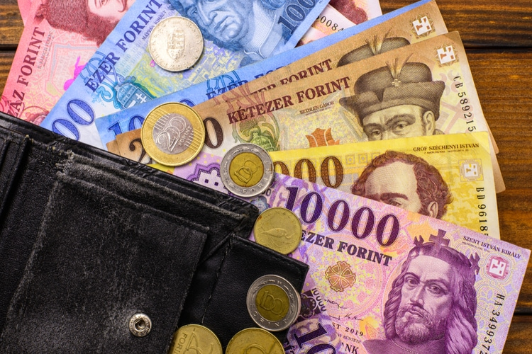 Exchange currency in Hungary