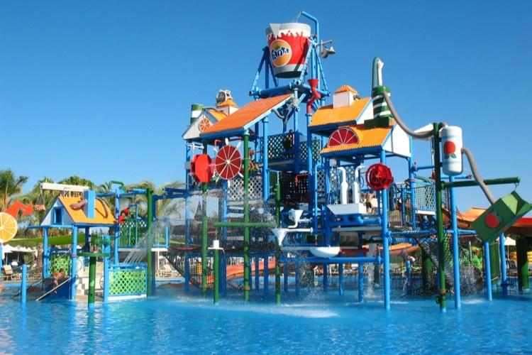 Fassouri Water park in Cyprus