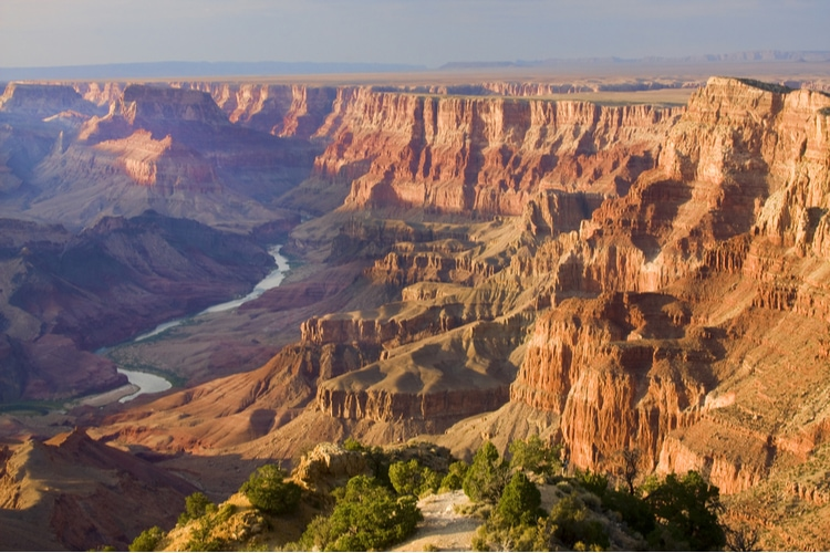 Grand Canyon size